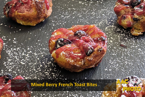 """Mixed Berry French Toast Bites • <a style=""""font-size:0.8em;"""" href=""""http://www.flickr.com/photos/159796538@N03/40876464853/"""" target=""""_blank"""">View on Flickr</a>"""
