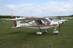 G-DTOY (IndiaEcho) Tags: gdtoy ikarus c42 eghp popham airport airfield basingstoke hampshire england canon eos 1000d light general civil aircraft aeroplane aviation microlight fly in 2019