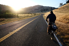 DSCF4342 (dannondale) Tags: california bikepacking sunset goldenhour skateboard bicycle surly fujifilm xt1