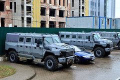 New Russian military armored car 4x4 `Buran` manufactured `Rida Holding`, made on the basis of GAZ-3308 `Sadko` (maxsafaniuk) Tags: 4×4 armament armaments armed armor armored armoredbrigade armoured arms army array arsenal atf attack battle belarus car combat combatteam defence defense defenseindustry drive equipment force gun heavy machine military nato parade police russian separatists soldier suv tank track transport transportation troop troops vehicleapc war weapon weaponry weapons wheel wheeledarmouredvehicle world