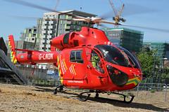 London's Air Ambulance in Wembley (kertappa) Tags: img1149 air ambulance londons london hems doctor paramedics hospital glndn emergency helicopter kertappa wembley