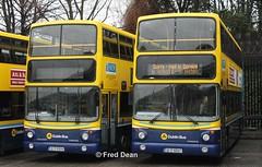 Dublin Bus AV49/AV47 (00D40049/47). (Fred Dean Jnr) Tags: dublinbusyellowbluelivery buseireannbroadstonedepot dublinbus bstone volvo b7tl alexander alx400 av49 av47 00d40049 00d40047 broadstonedepotdublin february2013 dublin busathacliath