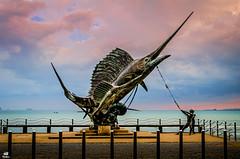 Swordfish Statue in Ao Nang, Thailand (volker.meier) Tags: aonang thailand swordfish statue travel