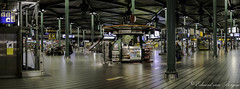 Amsterdam - Schiphol Airport in the small hours . . (Eduard van Bergen) Tags: klm schiphol airport amsterdam holland dutch nederland niederlande netherlands pays bas apron sleepy sleeping tangent parked parking night overnight dreams sweet downtime zuidtangent light flood floodlight aircraft boeing airbus shot still picture photo photograph bild foto holanda company logo dormir avion flugzeuge flying platform tarmac bay small hours airfield buildings am darkness lights city center hub gate security conveyor hall clock trains taxis railroad signs billboards departures arrivals matrix station passengers fujixe1 fujinon27mmasphsuperebc