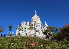 Little Garden (elianek) Tags: paris europe france montmartre sacrecouer cathedral catedral church igreja catholic catolica europa frança garden jardim