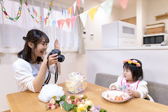 Mother taking photos of her dauther for first birthday (Apricot Cafe) Tags: imgr20461 asia asianandindianethnicities healthylifestyle japan japaneseethnicity tokyojapan wellbeing affectionate anticipation babyhumanage babygirls beautifulwoman birthday birthdaycake bonding candid care carefree cute daughter day decorating diaper digitalcamera domesticlife facetoface family firstbirthday flag flower fragility freedom gift handraised happiness indoors innocence lifestyles loveemotion loveatfirstsight mother onlyjapanese people photographing photography realpeople sitting strawberry sustainablelifestyle table togetherness twopeople youngadult