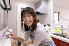 Young mother cooking birthday cake for her daughter (Apricot Cafe) Tags: imgr20015 asia asianandindianethnicities healthylifestyle japan japaneseethnicity tokyojapan wellbeing affectionate anticipation beautifulwoman birthday birthdaycake candid care carefree clean cooking copyspace day diaper domesticlife firstbirthday happiness indoors innocence kitchen lifestyles lookingatcamera loveemotion microwave mother oneperson oneyoungwomanonly onlyjapanese oven people photography realpeople smiling sustainablelifestyle toothysmile touching waistup youngadult