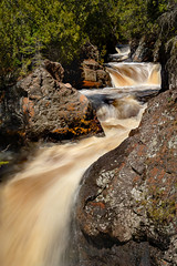 Cascade River 20190426 Stack (Prairieworks Pictures) Tags: water river waterfalls whitewater rapids cascades rocks trees green slowshutter longexposure minnesota lakesuperior northshore sony alpha a7riii zeiss loxia loxia2485 prairieworkspictures