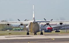 ukraine air alliance an-12bk ur-caj dep shannon 13/5/19. (FQ350BB (brian buckley)) Tags: ukraineairalliance an12bk urcaj einn