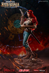 TBLeague-PHICEN PL2019-140AB Steam Punk Red Sonja - 11 (Lord Dragon 龍王爺) Tags: 16scale 12inscale onesixthscale actionfigure doll hot toys phicen tbleague seamless