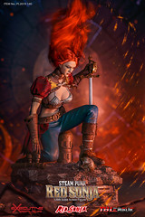 TBLeague-PHICEN PL2019-140AB Steam Punk Red Sonja - 01 (Lord Dragon 龍王爺) Tags: 16scale 12inscale onesixthscale actionfigure doll hot toys phicen tbleague seamless