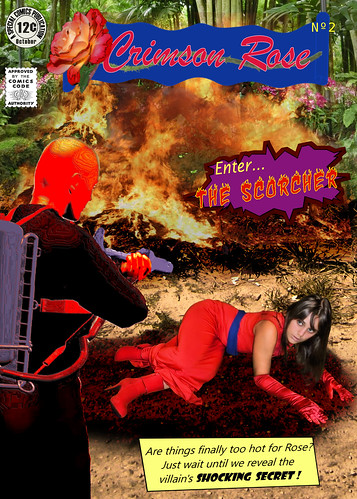 Crimson Rose in 'Enter the Scorcher'