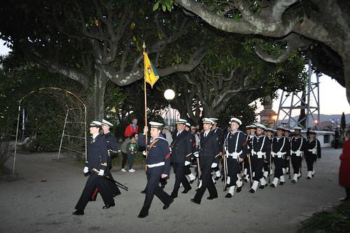 Arriado solemne de Bandera en el Arsenal de Ferrol. 29 marzo 2019