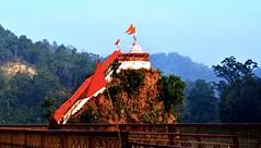 Riverside (RahulChandra23) Tags: world followme explore travel art landscape northindia famous likes popular evening dusk river nikon india temple