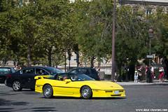 Spotting 2016 - Chevrolet Corvette C4 (Deux-Chevrons.com) Tags: chevrolet corvette c4 chevroletcorvettec4 chevroletcorvette corvettec4 voiture car coche auto automobile automotive paris france spot spotted spotting croisée rue street