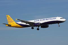 Olympus Airways Airbus A321-231 SX-ABY BHX (bhx_flights) Tags: bhx egbb airport birmingham birminghamairport tui olympus olympusairways airbus airbus321 airbusa321