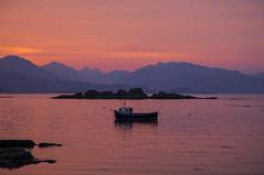 Skye Sunrise (Matt Champlin) Tags: boat boating fish fishing fishingboat scotland isleofskye travel adventure spring springtime beautiful sunrise amazing canon 2019 life nature mountains ocean beach