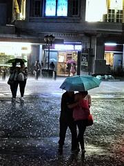 ☔️ ☔️ Rain (-Faisal Aljunied - !!) Tags: faisalaljunied iphone7plus iphoneography streetphotography rain umbrella singapore
