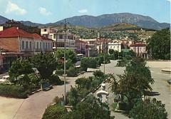 Το Ζάππειο (Πλατεία Λάμπρου Κατσώνη), την δεκαετία του 1970. (Giannis Giannakitsas) Tags: greece grece griechenland λιβαδεια livadeia ζαππειο πλατεια λαμπρου κατσωνη 1970