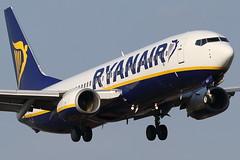 EI-DLG RYANAIR BOEING 737-8AS (Roger Lockwood) Tags: eidlg ryanair boeing737 manchesterairport man egcc