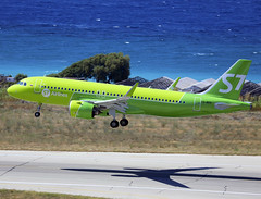VQ-BCR (QC PHOTOGRAPHY) Tags: rhodes diagoras greece july 28th s7 siberian airlines a320200neo vqbcr