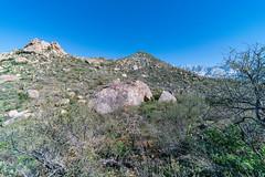 1902 Huge Boulder on th way to Romo Peak (c.miles) Tags: coronadonationalforest romohill romopeak santacatalinamountains snow