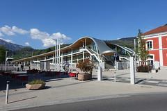 SNCF train station @ Cluses @ Hike to Mont Orchez (*_*) Tags: hiking mountain montagne nature randonnee walk marche printemps spring 2019 afternoon may chablais savoie cluses europe france hautesavoie 74 gare trainstation sncf garedecluses