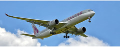 Qatar Airways A7 - AMG (Stefan Wirtz) Tags: a7amg zrh lszh qatarairways qatarairbus airbus airbusa350 airbusa350941 a350 a350941 kloten zürich zürichairport zürichflughafen zurich kantonzürich aeroportzurich airportzürich flughafenzürich flughafen flugzeug plane airplane jetplane aeroplane jet passagiermaschine passagierjet düsenflugzeug widebody langstreckenflugzeug grossraumflugzeug runway runway14 departure landeanflug schweiz suisse switzerland canon tamron