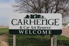 I reached Carhenge! (Hazboy) Tags: hazboy hazboy1 alliance nebraska cars car coche carhenge april 2019 auto automobile