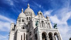 Sacré Coeur (mireiatarres) Tags: paris france francia cielo edificio building architecture arquitectura city ciudad sky
