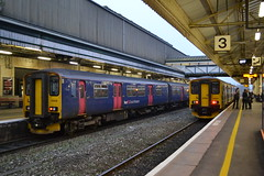 Great Western Railway Sprinter 150238 & 150244 (Will Swain) Tags: exeter st davids station 15th november 2018 train trains rail railway railways transport travel uk britain vehicle vehicles england english europe south west city centre gwr class great western sprinter 150 238 150238 150244 244