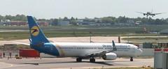 UR-PSI - Boeing 737-9KV(ER) - Ukraine Int. Airlines AMS 130519 (kitmasterbloke) Tags: aircraft aviation transport outdoor europe jet schiphol ams amsterdam