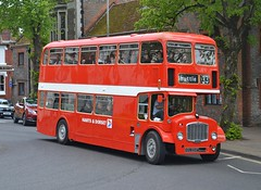 KRU 224F (tubemad) Tags: kru224f ecw bristol lodekka flf flf6b hantsdorset nationaldistress dekkabus winchester bus rally preserved