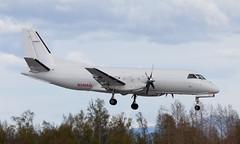 Saab 340 | N340AQ | ANC | 20150510 (Wally.H) Tags: saabfairchild sf340 saab340 n340aq penair peninsulaairways anc panc anchorage airport cargo