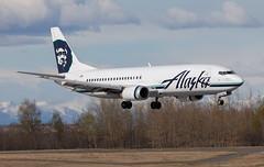 B737 | N762AS | ANC | 20150510 (Wally.H) Tags: boeing 737 boeing737 b737 n762as alaskaairlines anc panc anchorage airport