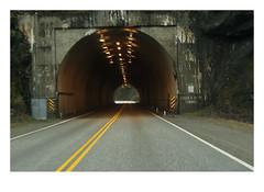 Saddle Rock (1958) (Robert Drozda) Tags: britishcolumbia canada transcanadahighway fraserrivercanyon saddlerocktunnel road highway tunnel southbound fbxtopdx2018 drozda
