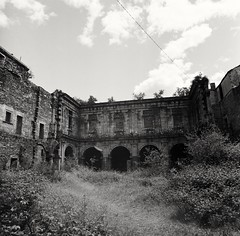 Nature takes over #2 (dvd.otero) Tags: 2 film analog arax kiev nature monastery abandoned