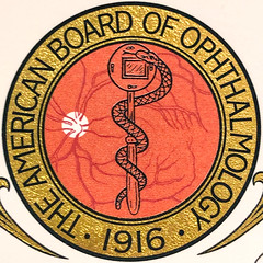 The American Board of Opthalmology (Timothy Valentine) Tags: squaredcircle seal 0519 certificate 2019 theeyedocs brockton massachusetts unitedstatesofamerica