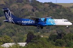 ES-ATA_07 (GH@BHD) Tags: esata atr atr72 atr72600 nordica bhd egac belfastcityairport turboprop aircraft aviation airliner