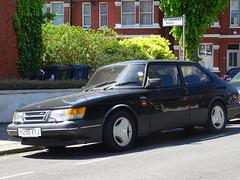 1990 Saab 900 Turbo 3 DOHC 16v (Neil's classics) Tags: vehicle 1990 saab 900 turbo 3 dohc 16v car