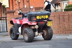 Merseyside Police Quad         (DK68 EJA) (LGM999) Tags: kirkby merseysidepolice quad police red