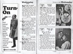 Turn-On, 1969 (STUDIOZ7) Tags: turnon abc kmsp tv channel9 minneapolis stpaul minnesota mn tvguide program laughin kraftmusichall 1960s 60s sixties beverlyhillbillies hockey herecomethebrides northstars stevelawrence eydiegorme