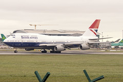 G-CIVB | British Airways | Boeing B747-436 | CN 25811 | Built 1994 | DUB/EIDW 21/03/2019 (Mick Planespotter) Tags: aircraft 2019 dublinairport collinstown nik sharpenerpro3 gcivb british airways boeing b747436 25811 1994 dub eidw 21032019 ba b747 jumbo retro queen airport