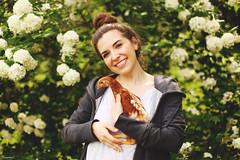 (suzcphotography) Tags: chicken love pet poultry golden comet hen girl portrait charlotte canon 5dmarkii 50mm cute