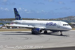 DSC_9484Pwm (T.O. Images) Tags: n583jb jetblue airbus a320 sxm st maarten princess juliana airport