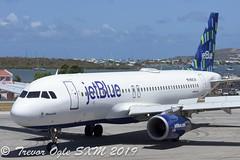 DSC_9486Pwm (T.O. Images) Tags: n583jb jetblue airbus a320 sxm st maarten princess juliana airport