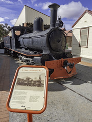 Steam Locomotive Y1, built 1888, formerly of Silverton Tranway Company - see below (Paul Leader - Paulie's Time Off Photography) Tags: brokenhillnsw locomotivey1 silvertontramwaycompany steamlocomotive sulphidestreetrailwayhistoricalmuseumcomplex vintagesteamlocomotive yclass olympus olympusem10 paulleader vintagetrain steamtrain steamengine steam locomotive heritagelisted transport transportation train travel tourist rail railway railroad passenger y1 railpage:class=167 railpage:loco=y1 rpausayclasssteam rpausayclasssteamy1 nsw newsouthwales australia