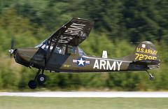 N32FL - 5/14/19 (nstampede002) Tags: cessna cessnao1 cessnato1 cessnabirddog o1birddog armyaviationheritagefoundation aahf khmp aviationphotography generalaviation militaryaviation military usarmy army cessnao1birddog