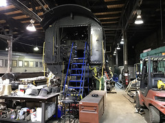 Restoration Continues (craigsanders429) Tags: steamlocomotives cleveland reading2100 roundhouse