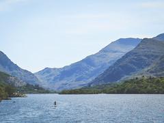 (Bryn B Jones) Tags: llynpadarn llanberis wales gwynedd sup standuppaddleboard paddleboard cymru huawei p20pro